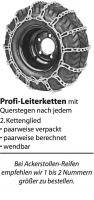 Schneekette Profi- Leiterketten 18 x 8.50-8