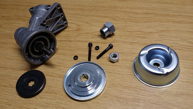 winkelgetriebe f r oleo mac freischneider motorsensen. Black Bedroom Furniture Sets. Home Design Ideas
