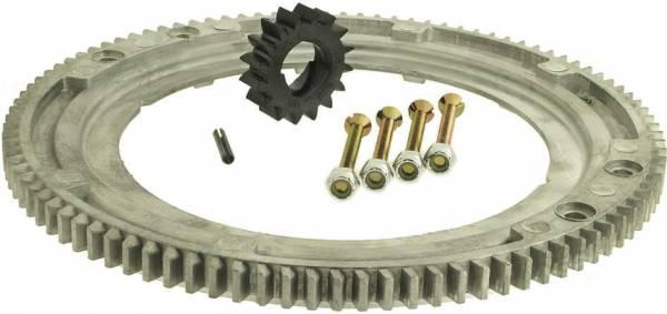 Schwungrad-Getriebering Alu für Briggs&Stratton Motor 28 B/D/N/M/P/Z, 19240, 196400, 257400, 286700, 289700