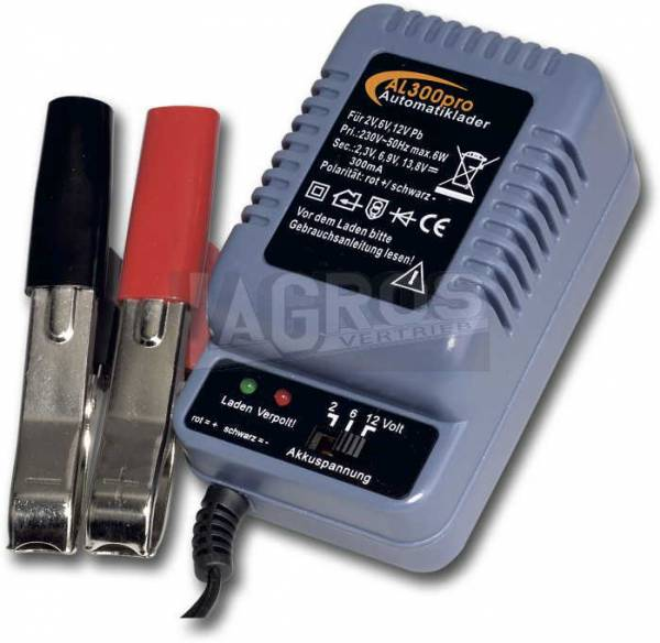 Automatik-Batterieladegerät AL300Pro 12V/300mA