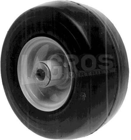 """Stützrad mit 4 Ply Reifen (9 x 3.50 x 4) für John Deere Rasentraktoren/ Aufsitzmäher F-500, F-700, FS-510, FS-525, FS-710, FS-725 mit 38, 48, 54"""" Mähwerk"""