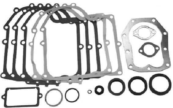 Dichtungssatz 15 Teile für Briggs&Stratton 12 + 12.5 PS Motor vertikal 28M700, 280700, 281700, 292700, 283700, 294700, 286700