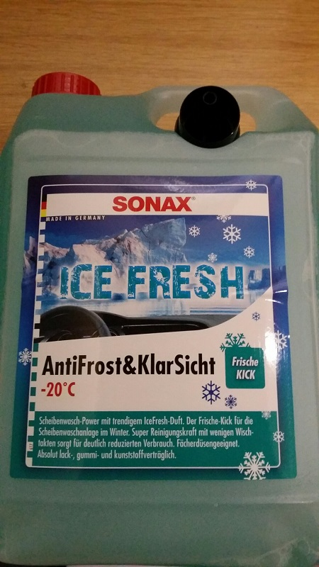 sonax antifrost klarsicht icefresh 5 liter kanister. Black Bedroom Furniture Sets. Home Design Ideas