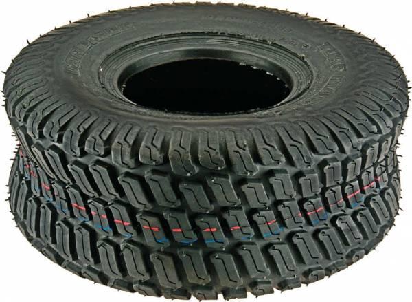 Reifen Rasen-Profil (Gr. = 15 x 6.00-6, Gr. = 6.00/4.50-6) für John Deere Rasentraktor/ Aufsitzmäher 170, 175