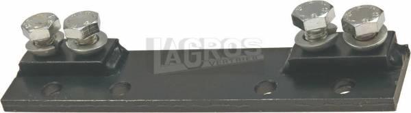 Anschluss-Platte kpl. für Balkenmäher