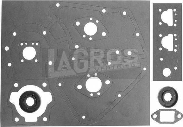 Dichtungssatz - 11 Teile mit Wellendichtring für Stihl Motorsäge 08S